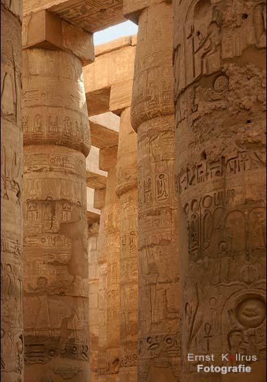 Säulenhalle in Karnak
