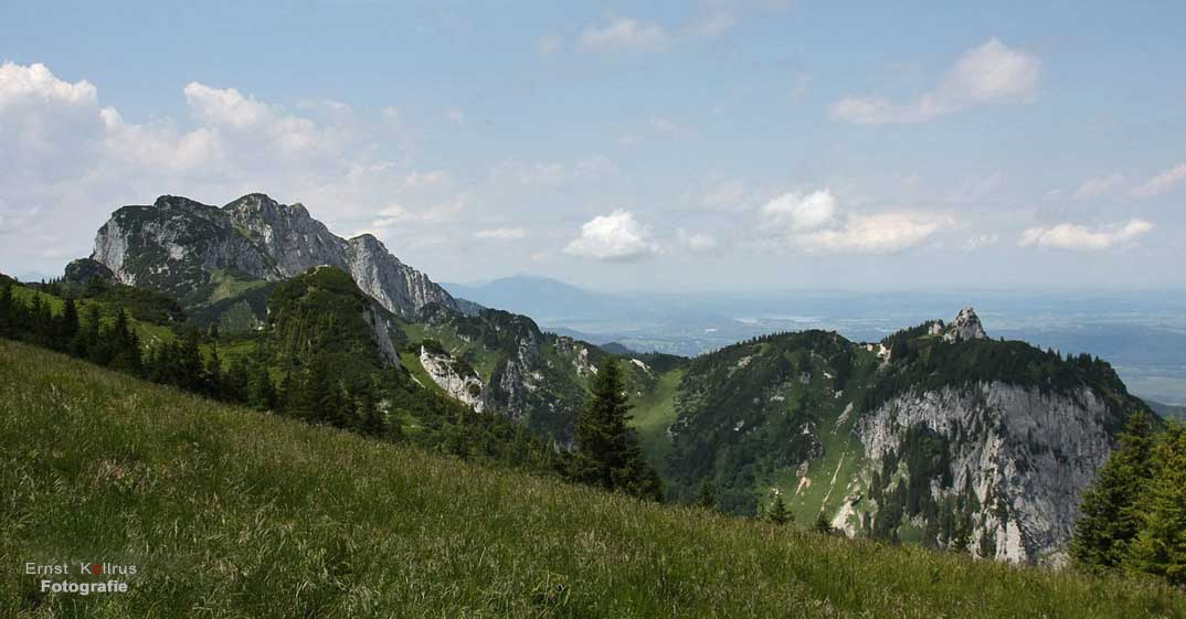 Weg zur Benediktenwand